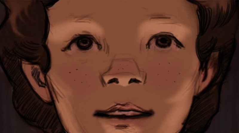 12 Corey As A Boy Closeup