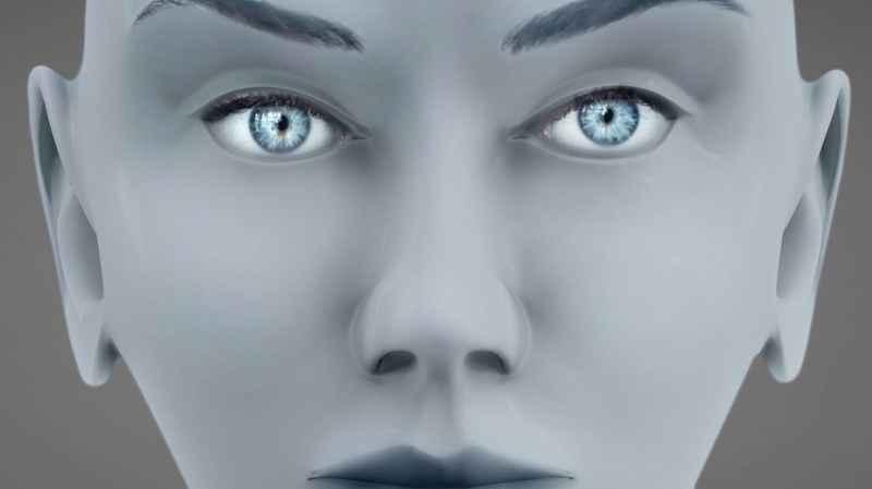 27 Close Up Of Bald Female ET